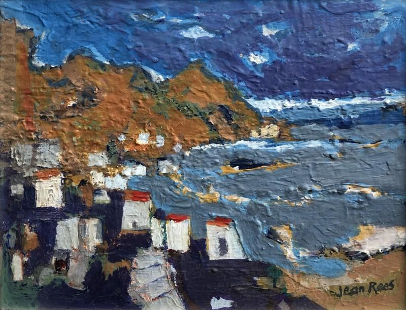 Jean Rees, Cretan Landscape, c. 1970s