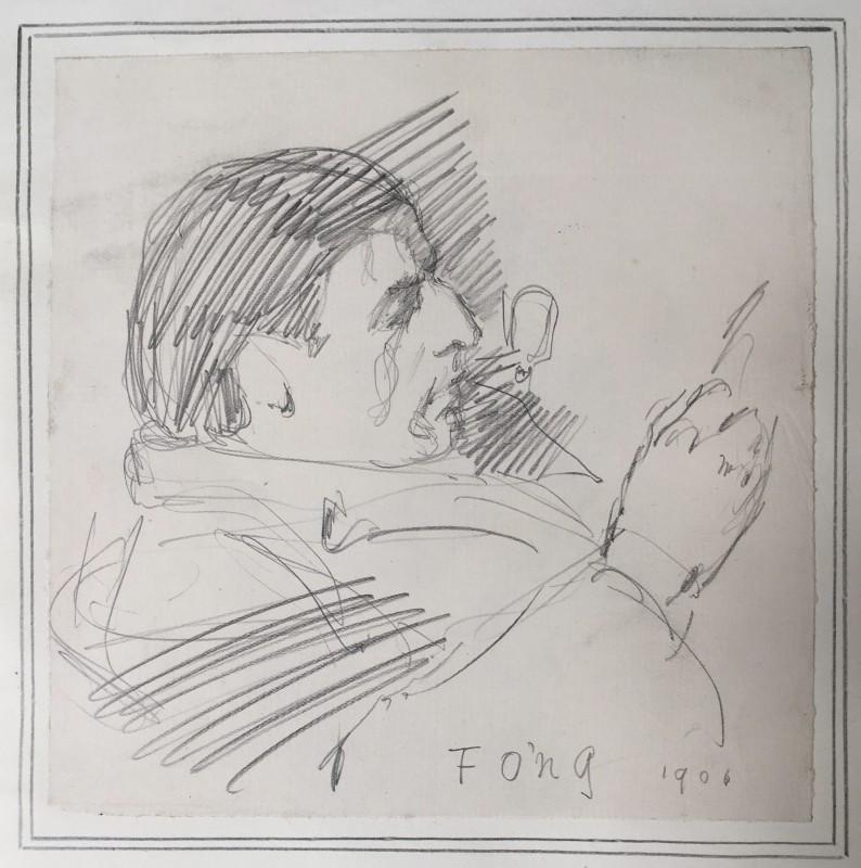 Ernest Henry Thomas (1880-1947)Portrait of the Poet Edward Thomas, 1906