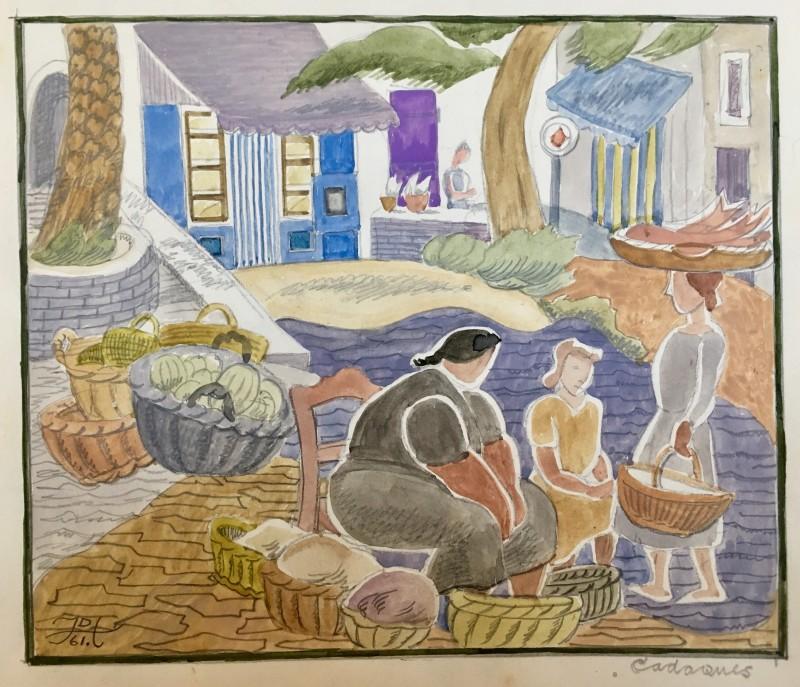 Doris Hatt (1890-1969)Cadaques, 1961