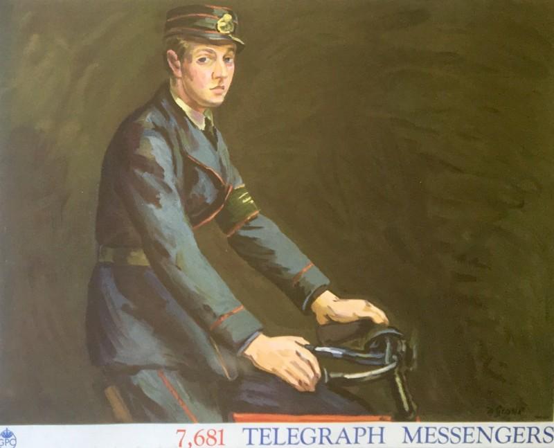 Duncan Grant (1885-1978)Telegraph Messengers: Poster III, 1939