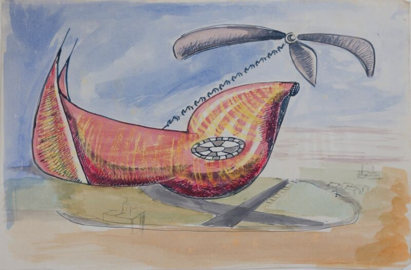 Kenneth Lauder (1916-2004)Flight Vehicle 2, 1945
