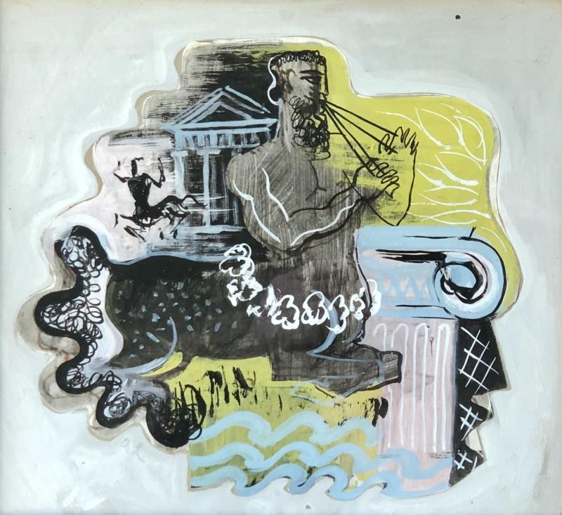 Olga Lehmann (1912-2001)Classical Composition, c. 1938