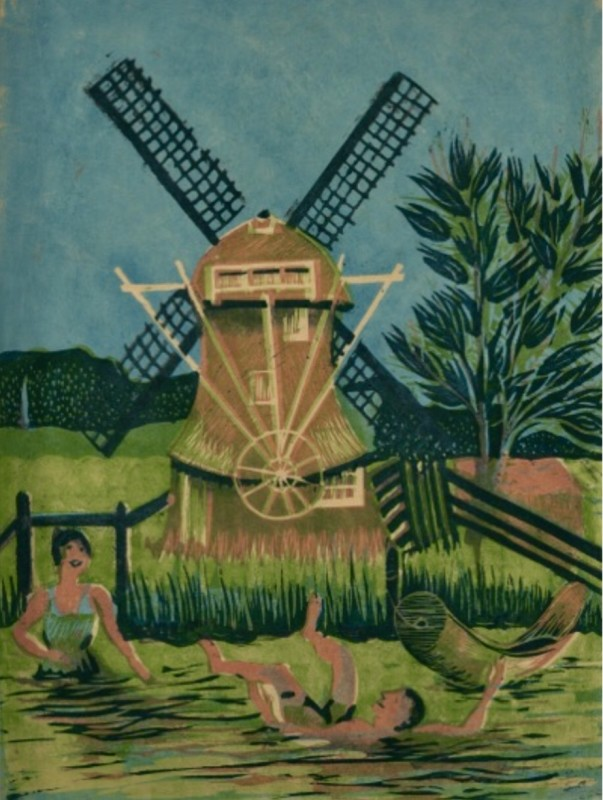 Mary Elizabeth Groom (1903-1958)The Windmill, 1930