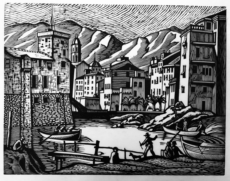 Ethelbert White (1891-1972)Rapallo (Old Rapallo), 1924