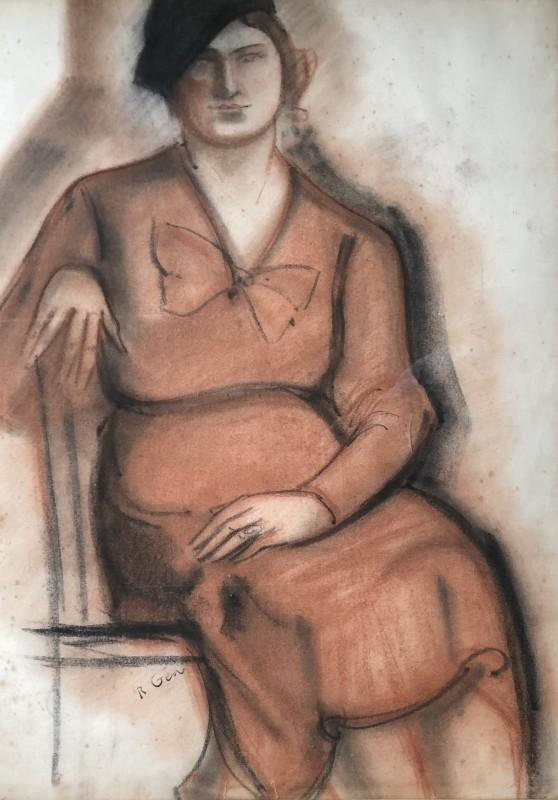 René Gen (1895-1975)Portrait Study, c. 1925