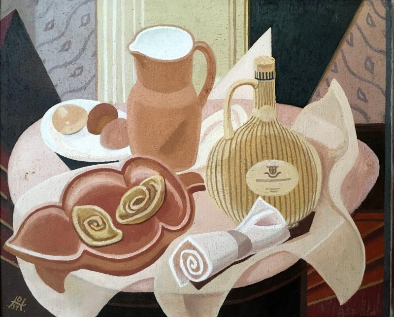 Doris Hatt (1890-1969)Still Life, Café au Lait, 1957