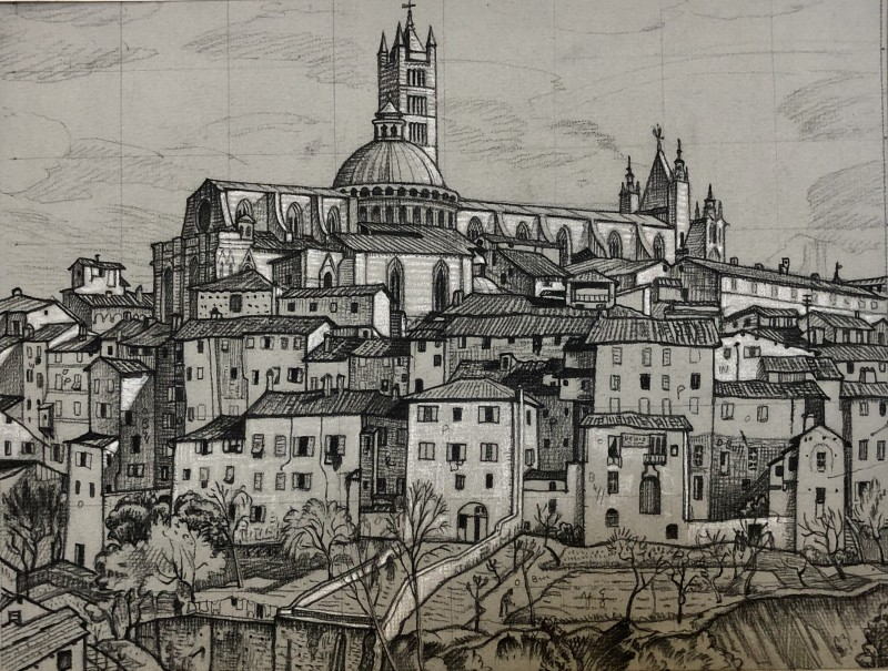 Ethelbert White (1891-1972)Italian Town, c. 1924
