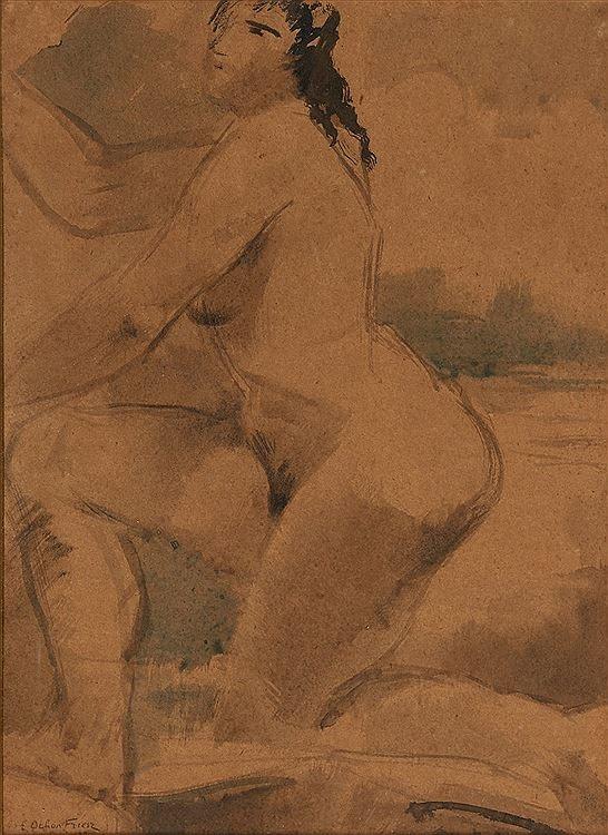 Othon Friesz (1879-1949)Nu, c. 1930