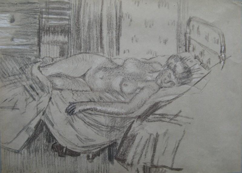 Walter Sickert, Mornington Crescent, 1907