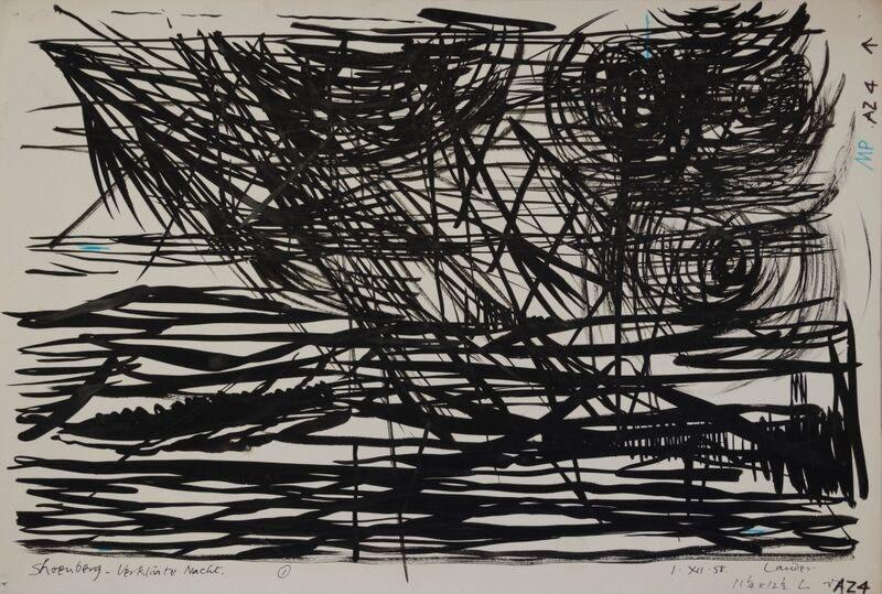 Kenneth Lauder (1916-2004)Schoenberg Study, 1950