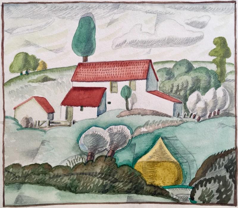 Doris Hatt (1890-1969)Wedmore II