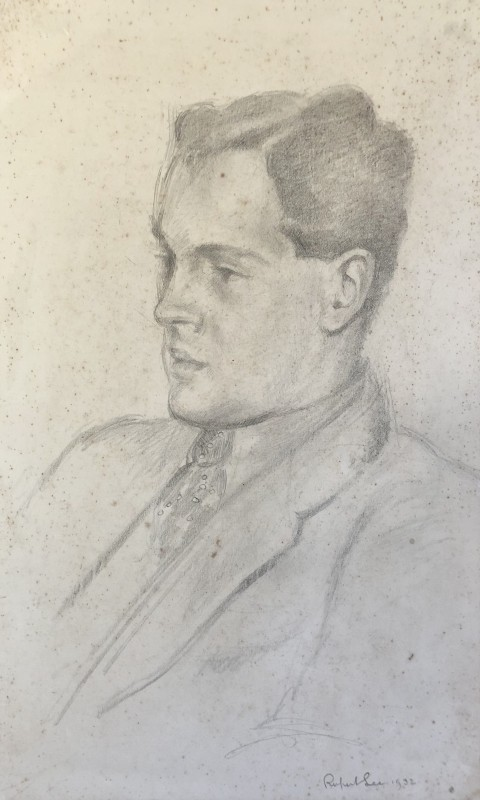 Rupert Lee (1887-1959)Portrait of John Nash, 1932