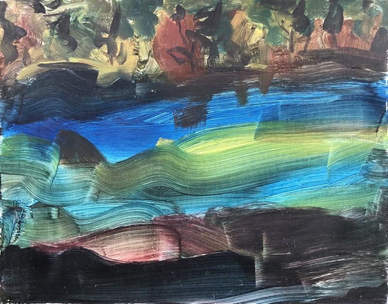 R. G. S. Mackechnie (1894-1975)Flowing River, c. 1930s