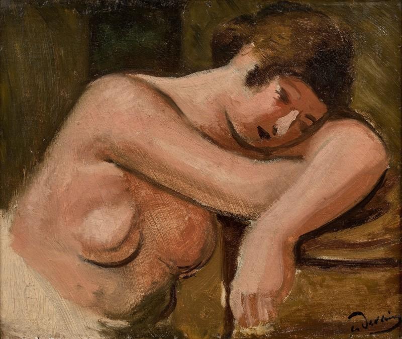 André Derain (1880-1954)Femme Endormie, 1928
