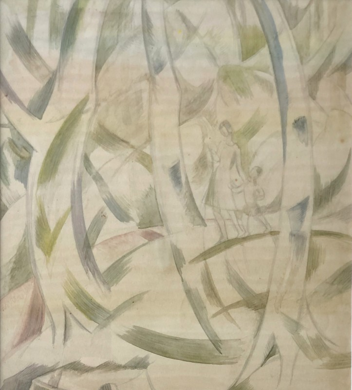 Doris Hatt (1890-1969)Woodland Walk II, c. 1940s