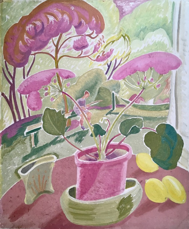 Doris Hatt (1890-1969)John Mackeson's Garden, Clevedon, 1948
