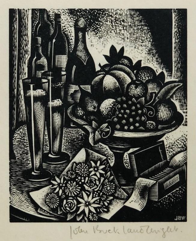 John Buckland Wright, Still Life, 1933
