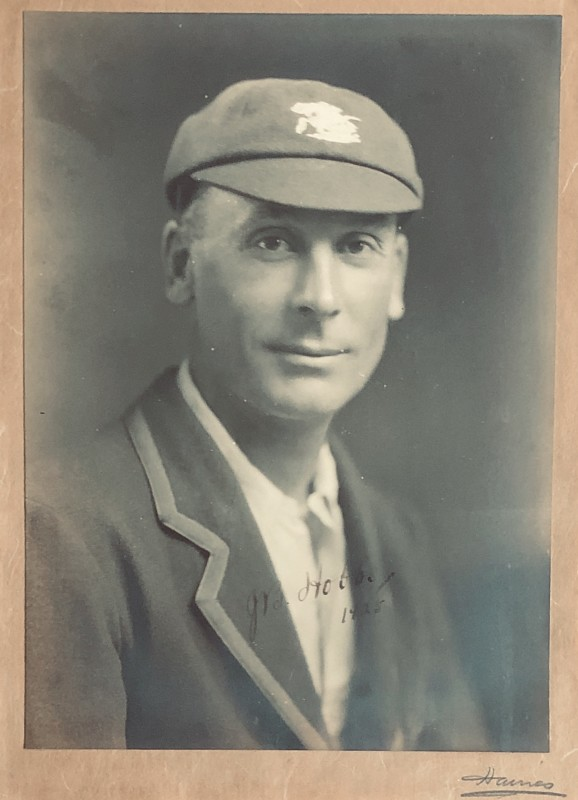 Reginald Haines (1872-1942)Portrait of Jack Hobbs, 1925