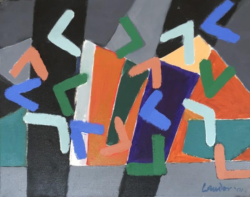 Kenneth Lauder (1916-2004)Palisades, 2001