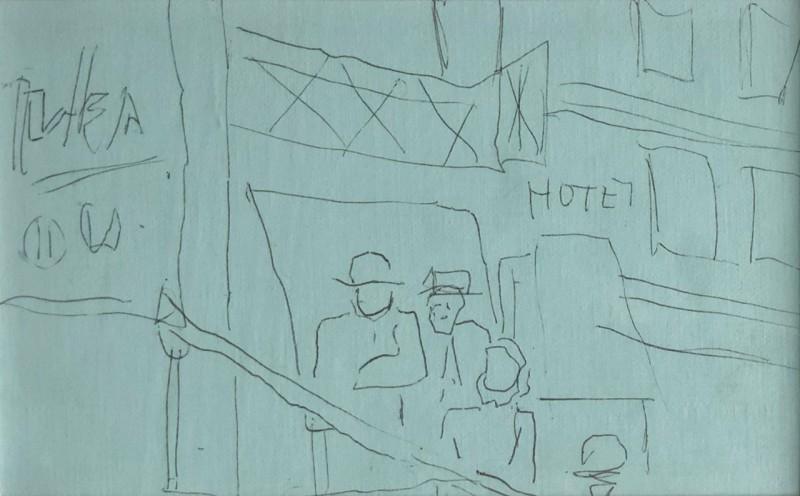 Fernand Léger (1881-1955)Croquis pour la ville, 1920's