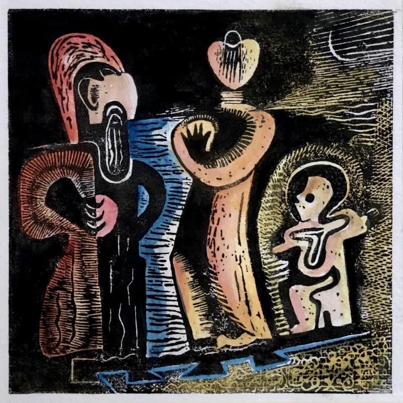Eileen Agar, Family Trio, 1931