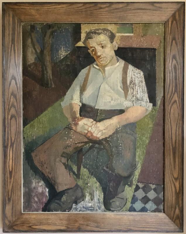 Norman Blamey (1914-2000)The Gardener, c. 1940