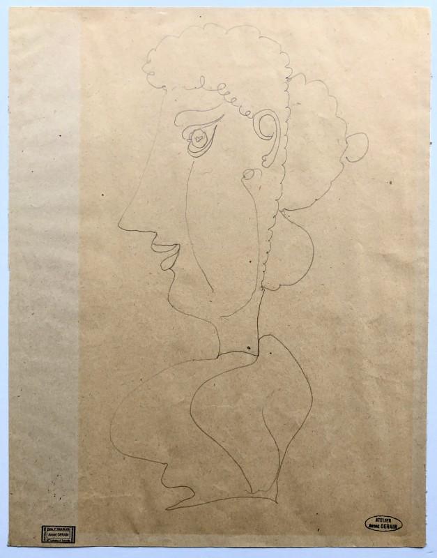 André Derain, Buste de femme, c. 1912-14