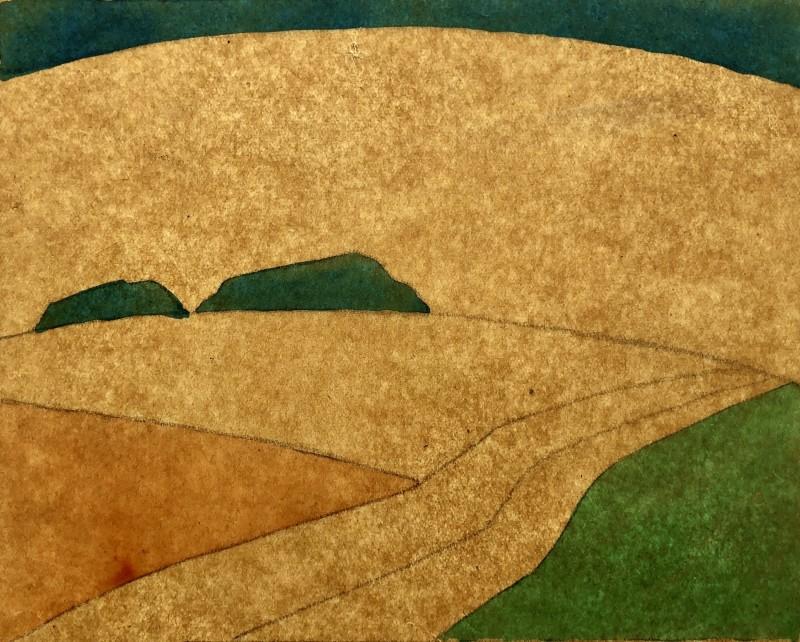 Ethelbert White (1891-1972)Cubist Landscape Study, c. 1914