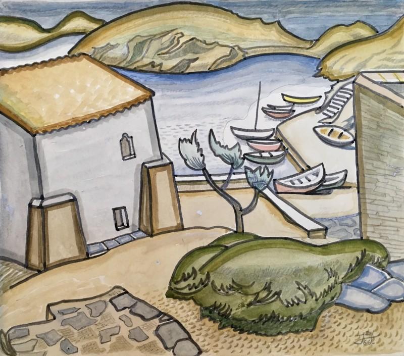 Doris Hatt (1890-1969)Port Lligat, 1966