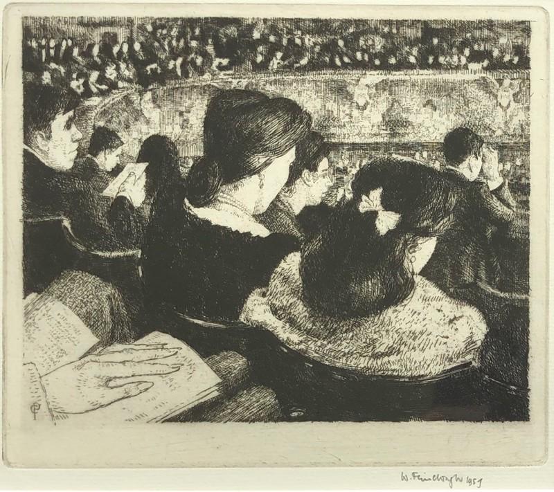 Wilfred Fairclough (1907-1996)Covent Garden, Grand Tier, 1957