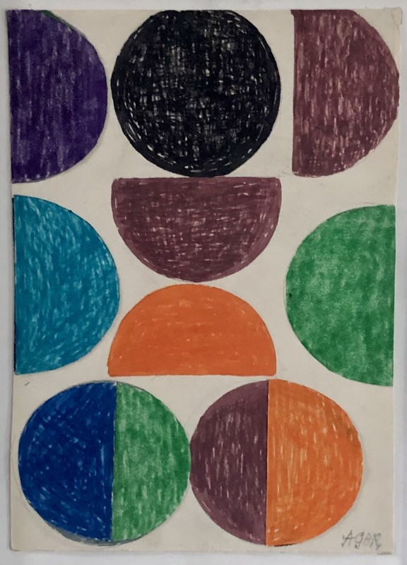 Eileen Agar, Composition, c. 1970