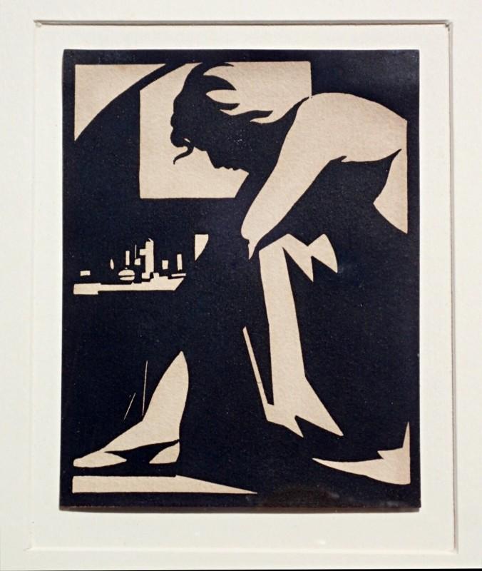 Robert Gibbings (1889-1958)The Girl in the Garret, 1921