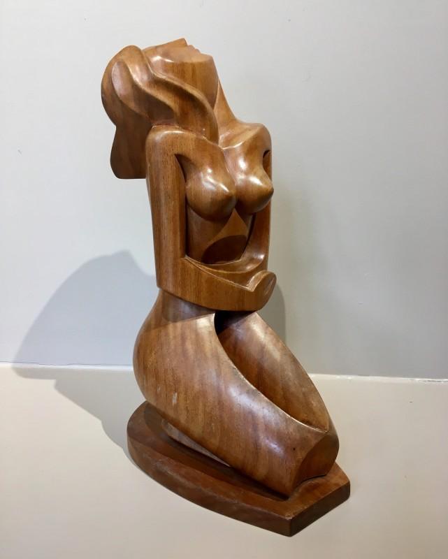 Jozef Cantré (1890-1957)Kneeling Nude, c. 1948