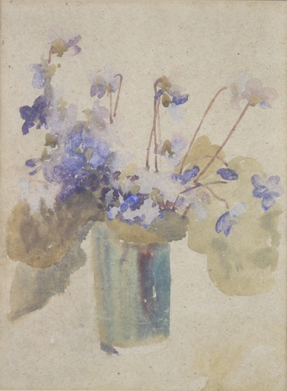 Gwen John (1876-1939)Still Life with Flowers