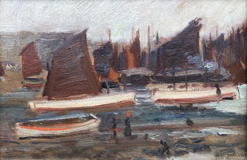 Louis Sargent (1881-1965)Fishing Fleet, St. Ives, c. 1910