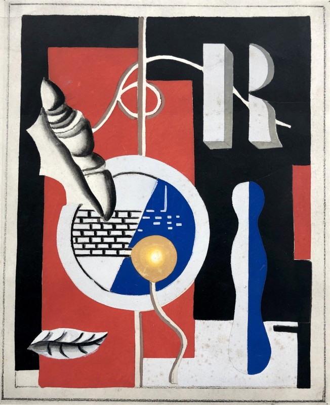 Fernand Léger, Le Coquillage, 1928