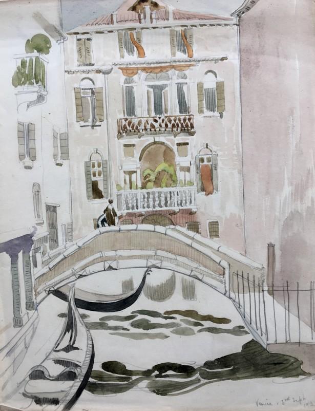 Doris Hatt (1890-1969)Venice , 1925