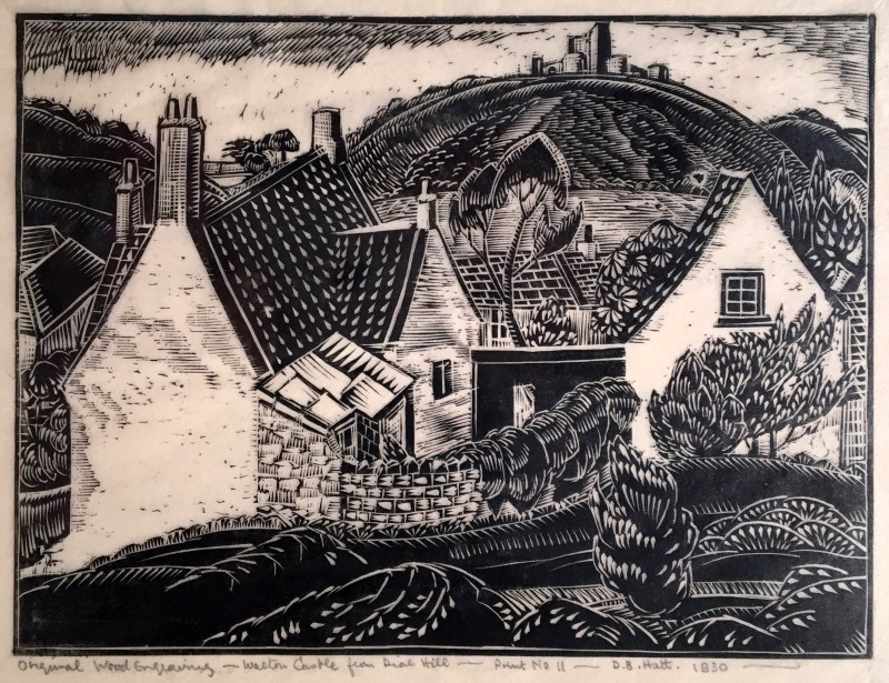 Doris Hatt (1890-1969)Walton Castle from Dial Hill, 1930