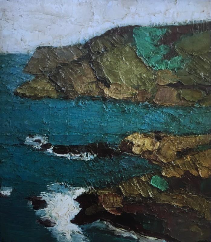 Bryan Senior (b. 1935)Seascape, Sark, 1960