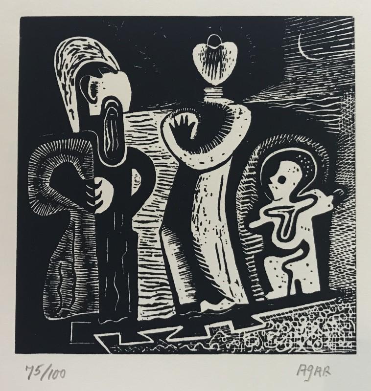 Eileen Agar (1899-1991)Family Trio, 1931