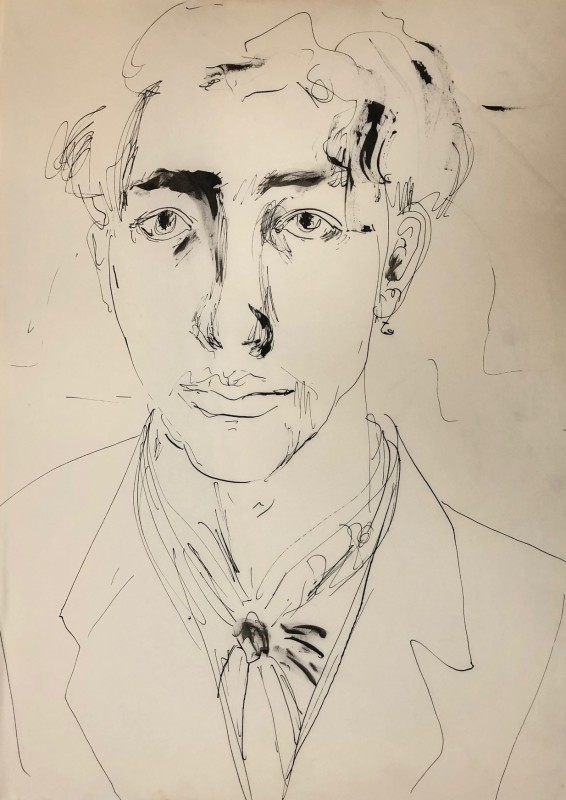 Glyn Morgan (1926-2015)Self Portrait