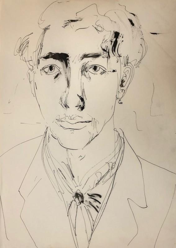 Glyn Morgan, Self Portrait
