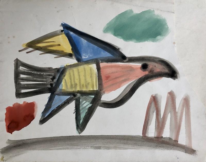 Carlos Carnero (1922-1980)Oiseau, c. 1950