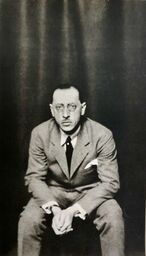 Li Osborne (1883-1968)Stravinsky, c. 1930s