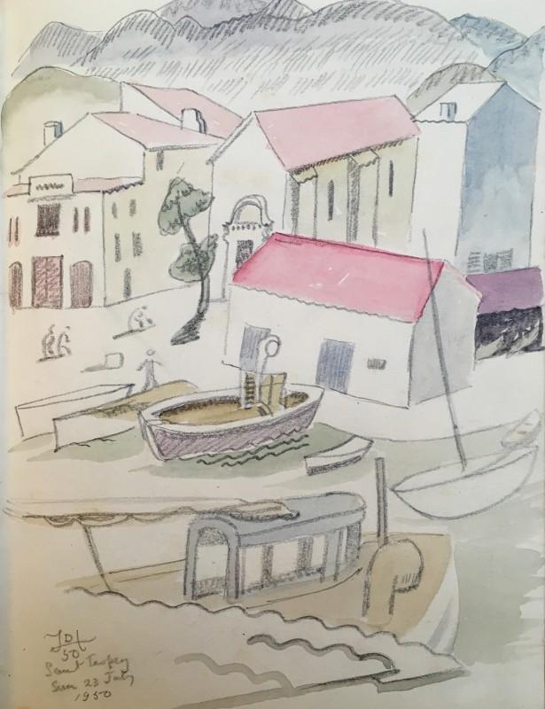 Doris Hatt (1890-1969)St. Tropez, 1950