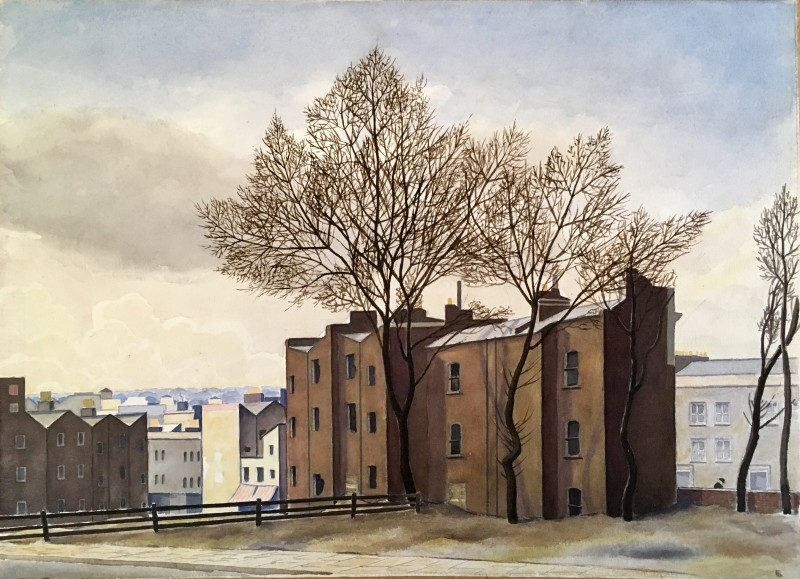 Fergus Graham (1900-1968)View of Hampstead, c. 1935
