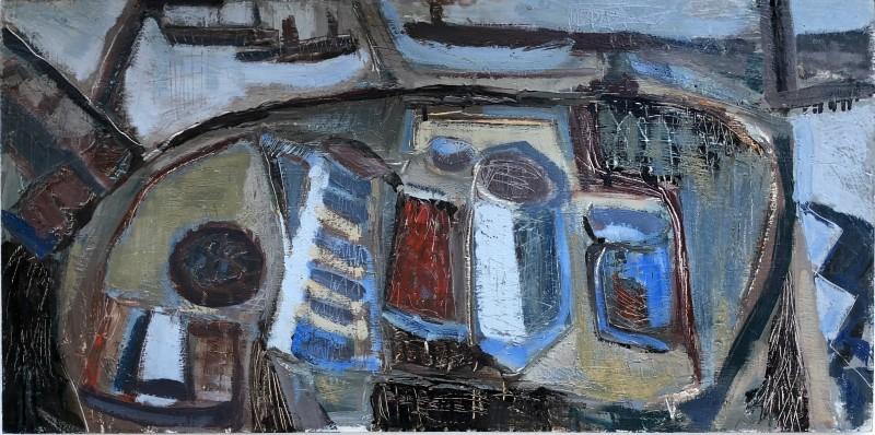 Tony O'Malley (1913-2003)St. Ives Interior, 1961