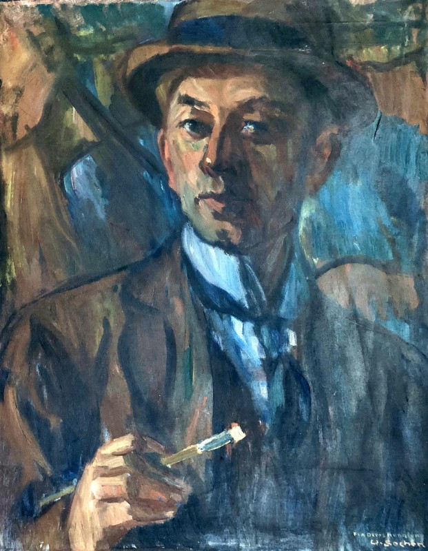 WALDEMAR SECHER SELF PORTRAIT, 1930
