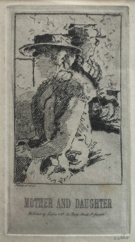 Walter Sickert, Mother and Daughter , 1915