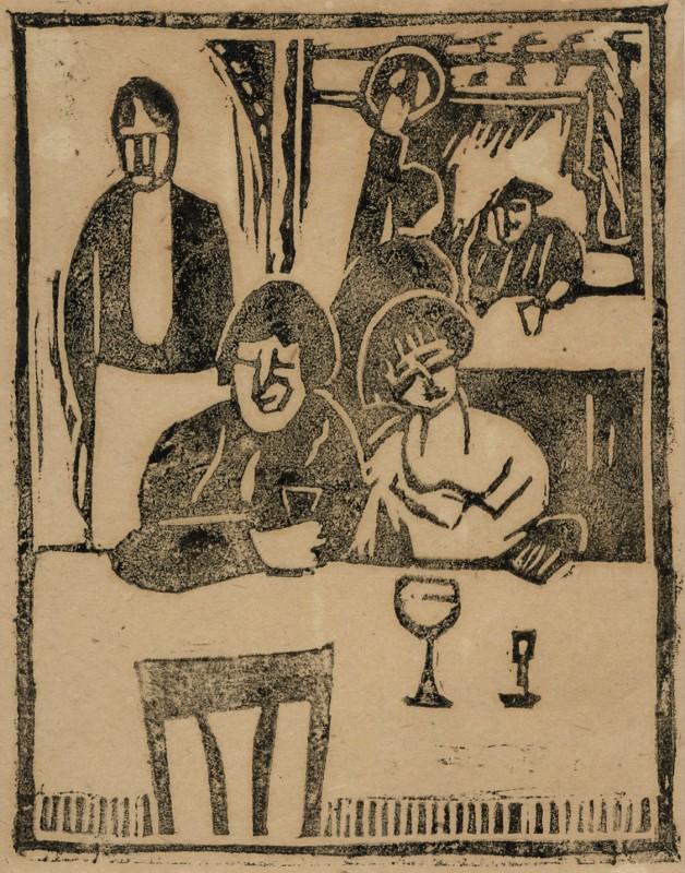 Horace Brodzky, The Restaurant, 1919